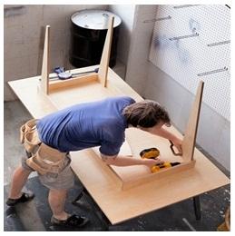 Сборка столов по низким ценам в Астрахани от специалистов
