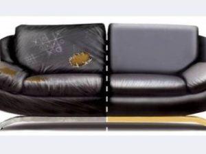 Перетяжка кожаного дивана в Астрахани